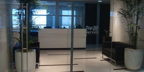 Execução Andar Comercial – TOP SERVICE TURISMO
